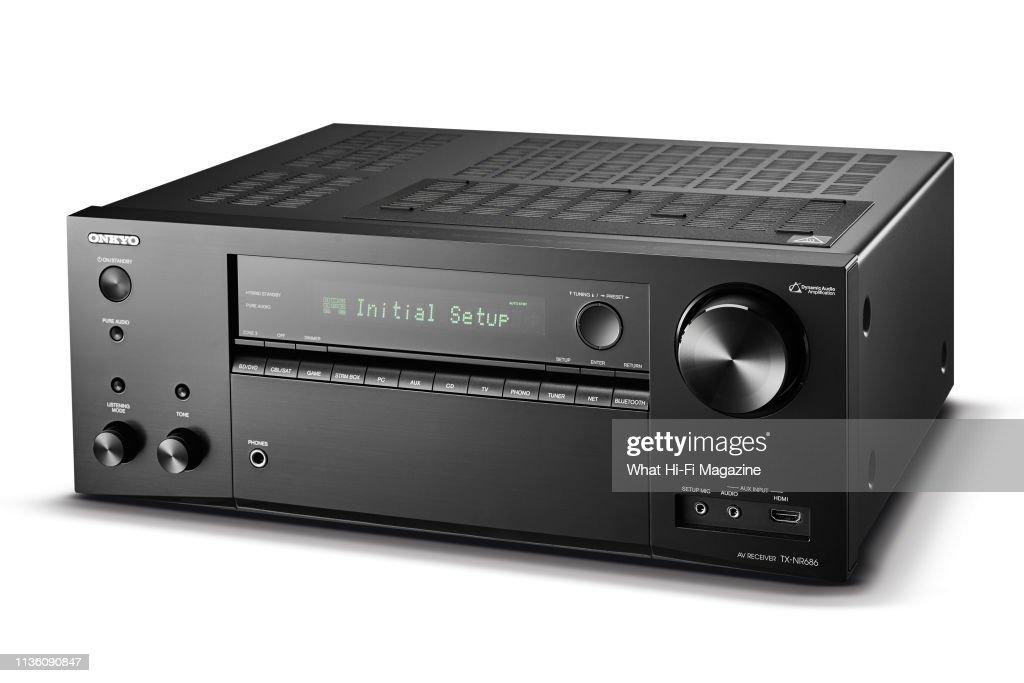 An Onkyo TX-NR686 AV receiver, taken on August 1, 2018  News