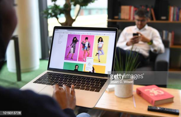 An online shopper uses the eBay website on May 30 in London, England. EBay remains at the forefront of online retail.The original disruptor of the...