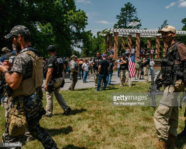 July 4, 2020: An online threat from the supposed leader of Antifa called for the burning of American flags on the grounds of the Gettysburg National...