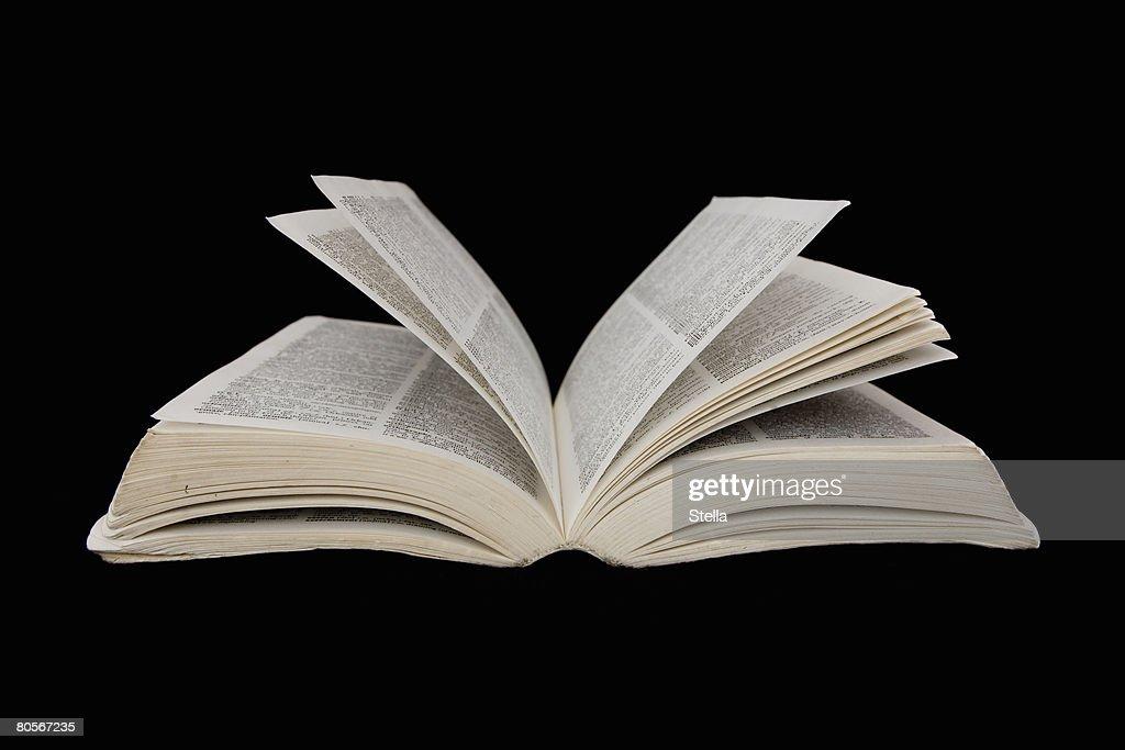 An open book : Stock Photo