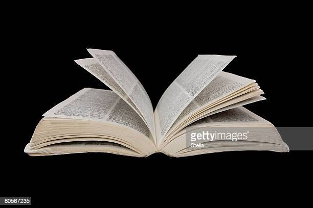 an open book - dictionary stock pictures, royalty-free photos & images