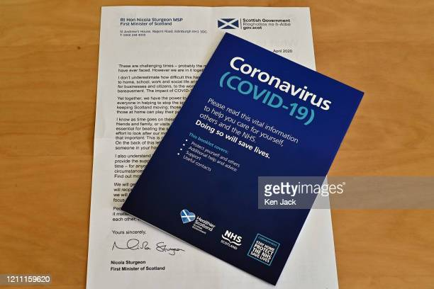 An open letter sent to people across Scotland by First Minister Nicola Sturgeon together with a Scottish Government advice and information leaflet,...