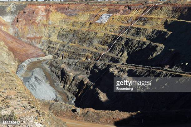An open pit mine sits at Northern Star Resources Ltd's Kalgoorlie Operations near Kalgoorlie Australia on Sunday Aug 6 2017 Northern Star is...