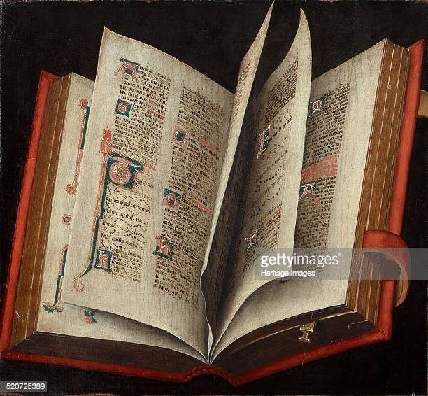 An Opened Liturgical Book Found in the collection of Art History Museum Vienne