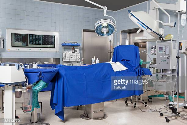 An operating room in a hospital