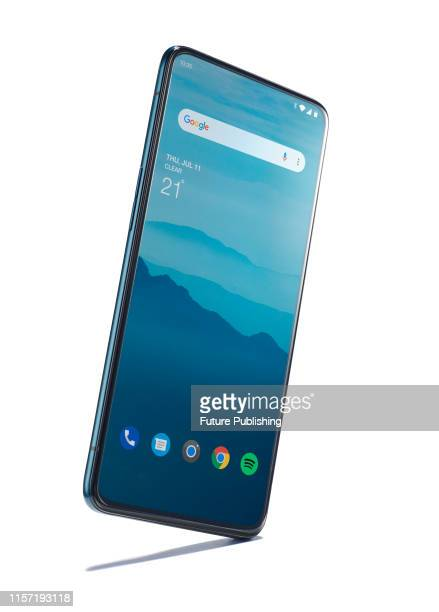 An Oppo Reno 5G smartphone, taken on July 5, 2019.