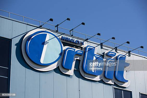 An Orbit chewing gum logo sits on the exterior of the Wrigley's plant, operated by Mars Inc., in St. Petersburg, Russia, on Wednesday, Sept. 14,...