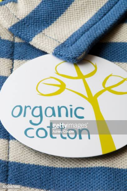 An organic cotton polo shirt.