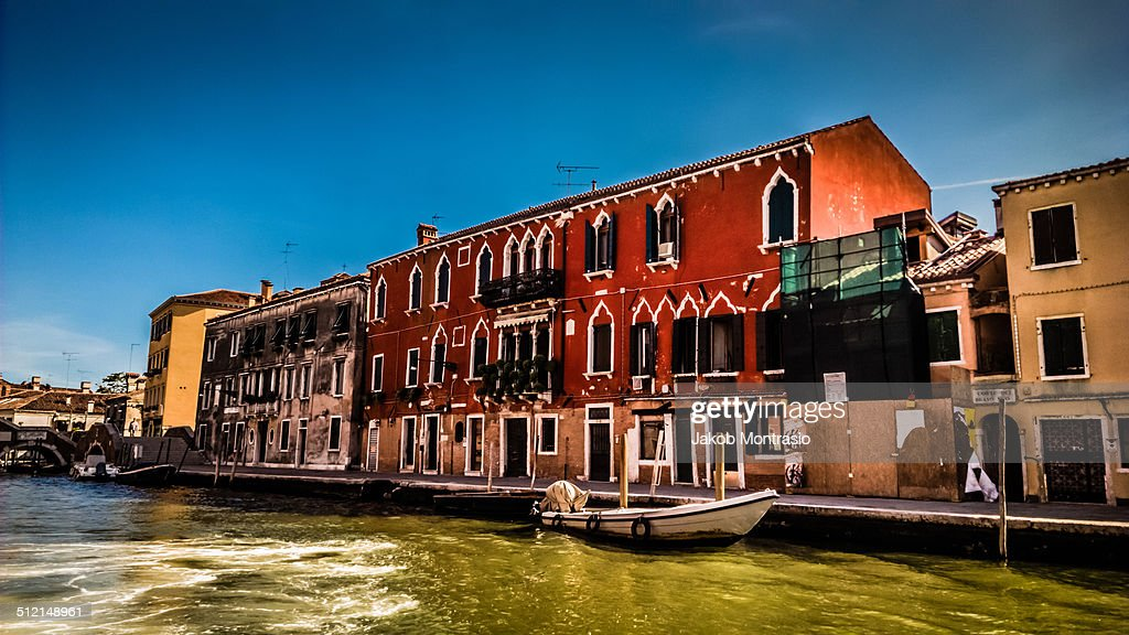 An oriental-styled building in Venice. : Stock Photo