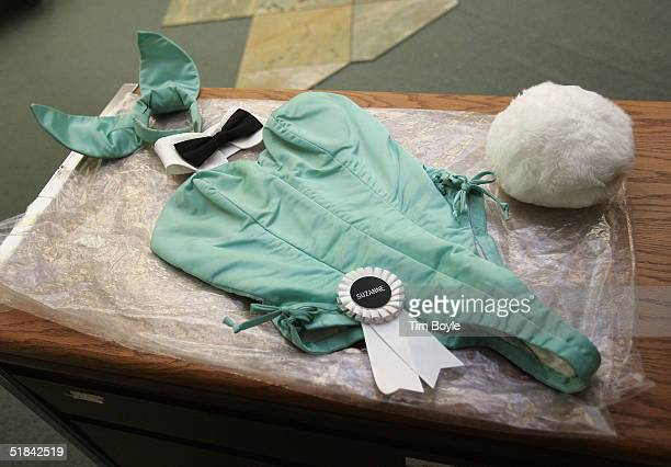 An original 1960's Playboy Bunny outfit once belonging to a bunny named Suzanne that will be up for bidding on eBay sits in a storage room at the...