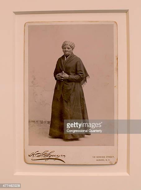 STATES JUNE 17 An original photograph of Slavery Abolitionist Harriet Tubman taken by H Seymour Squyer and estimated to have been printed in 1885 is...
