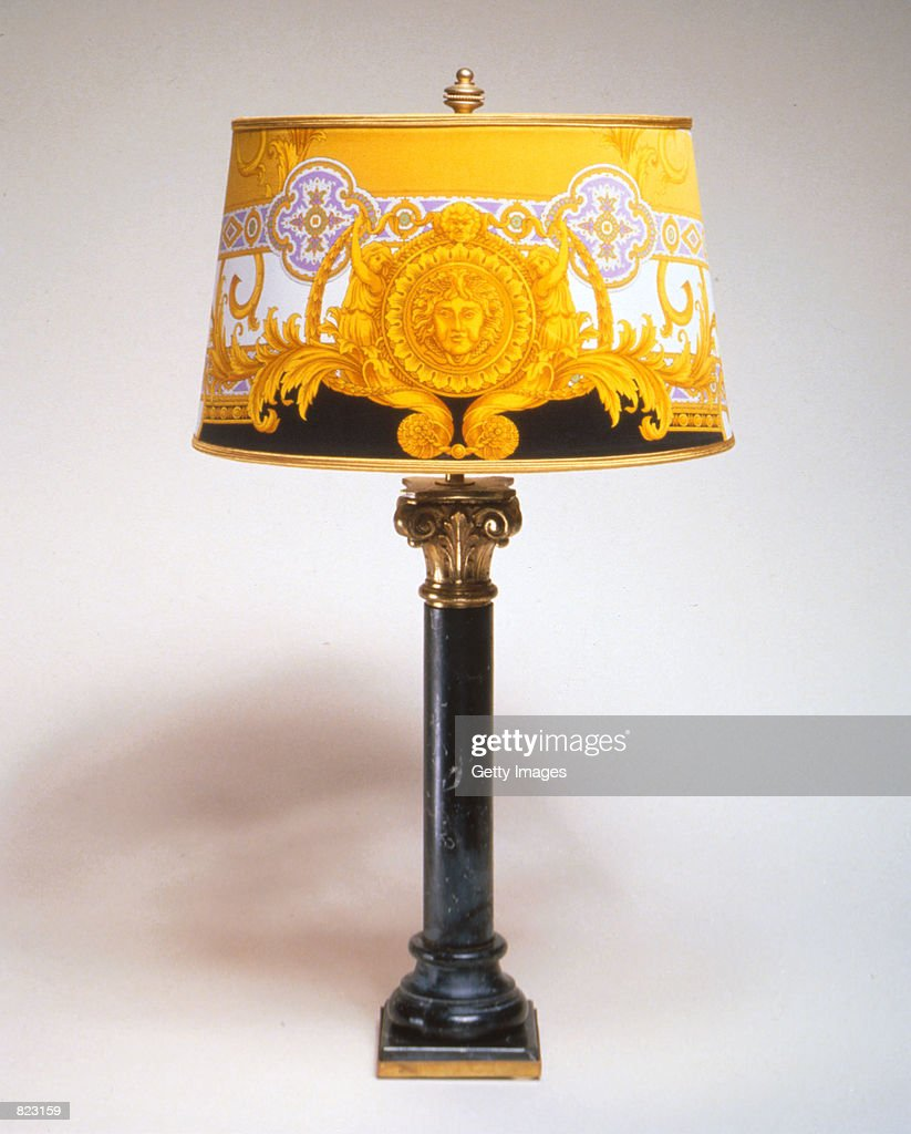 An Ornate Lamp From The Miami Home Of Murdered Designer Gianni Versace.  Sothebyu0027s Is Auctioning