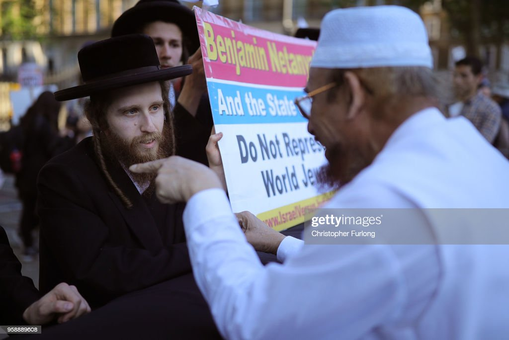 Palestinians Protest Against Israel In London : News Photo