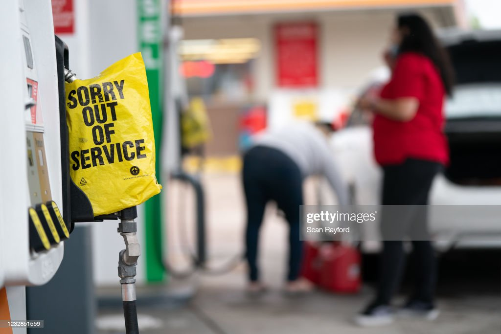 Biden Administration Issues Fuel Waiver For Multiple States To Ease Gas Shortage : News Photo