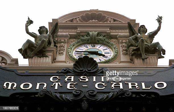 An outdoor view of the Casino in Monte Carlo