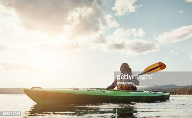 an outdoors activity with a little exercise involved - escapism stock photos and pictures