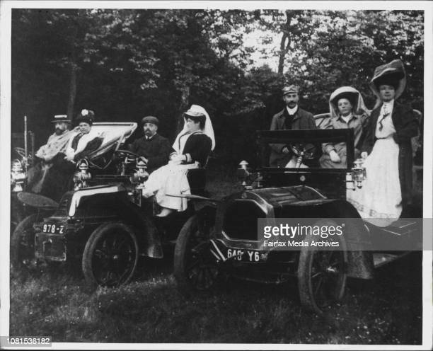 An Outing By Car' Circa 1905 July 29 1986