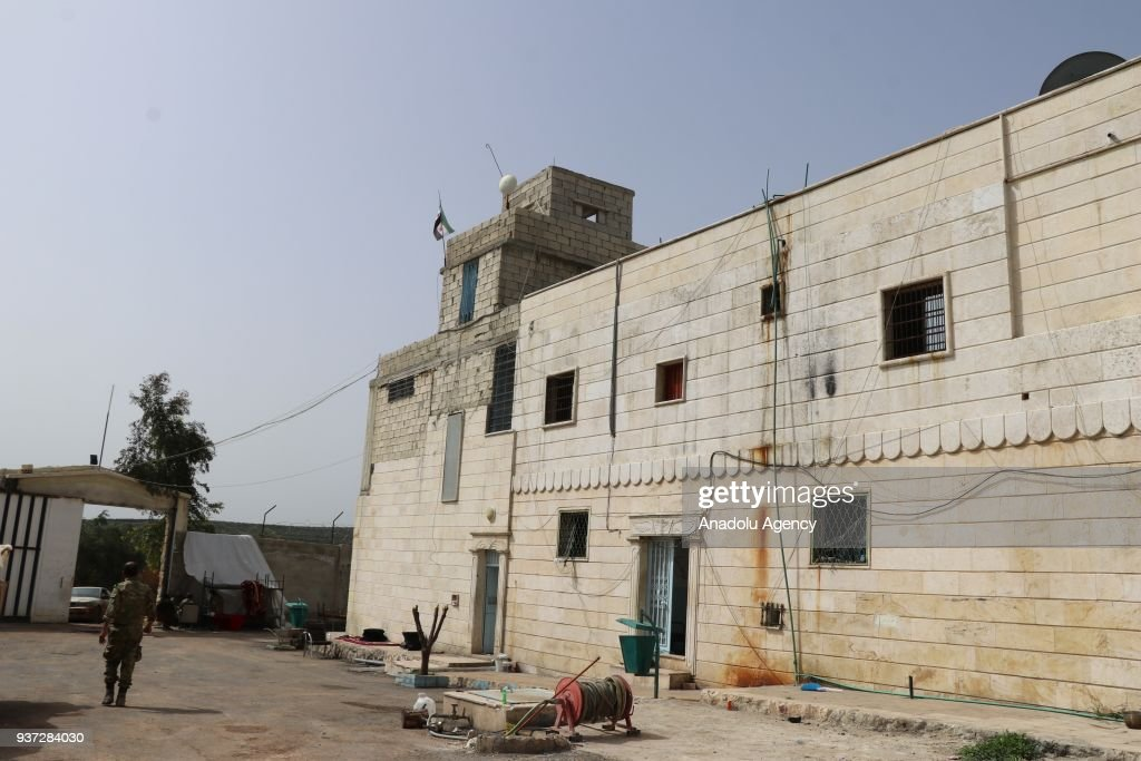 Free Syrian Army took control of Afrin Central Prison : News Photo