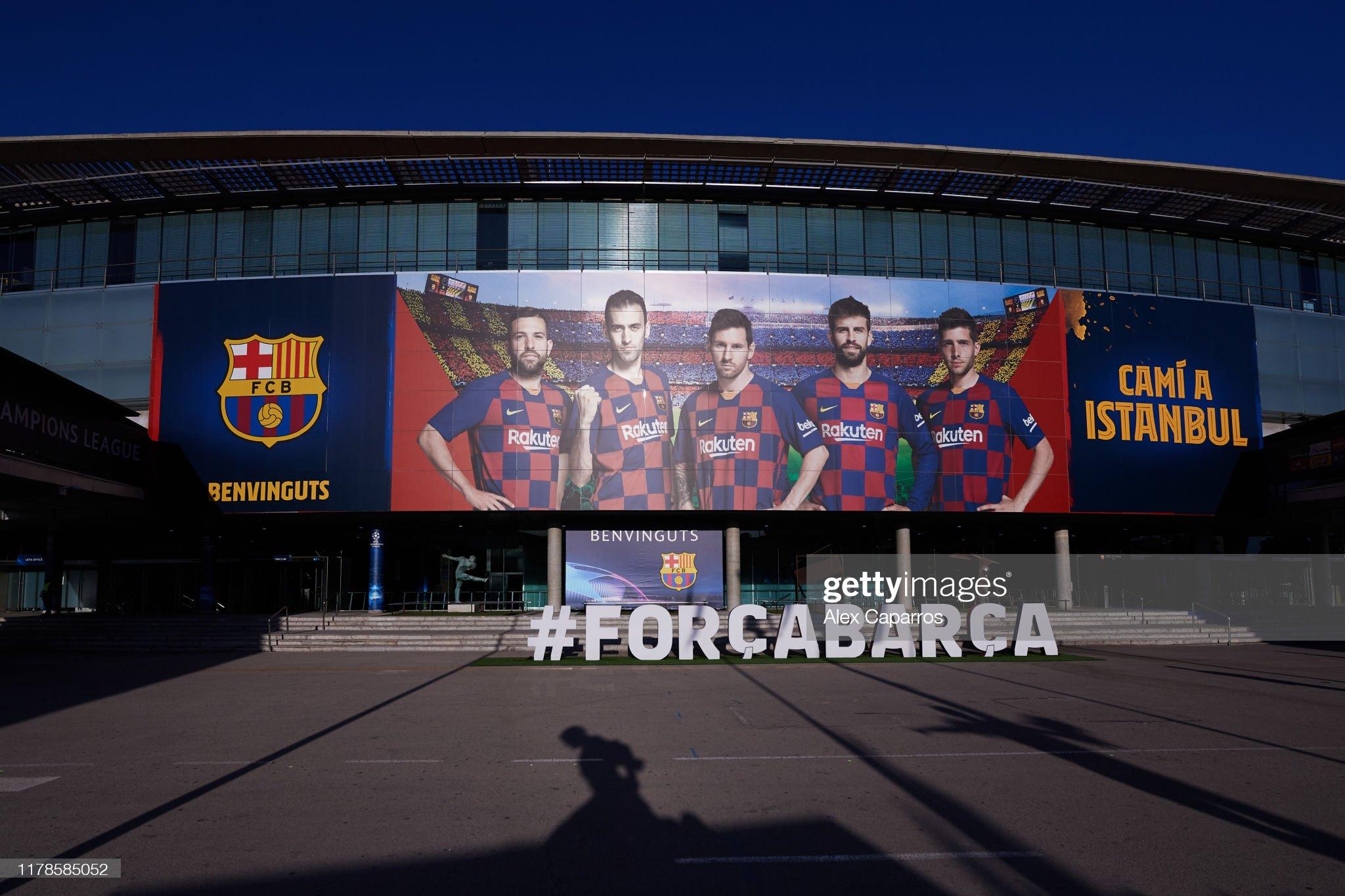 صور مباراة : برشلونة - إنتر 2-1 ( 02-10-2019 )  An-outside-view-of-the-camp-nou-stadium-ahead-of-the-uefa-champions-picture-id1178585052?s=2048x2048