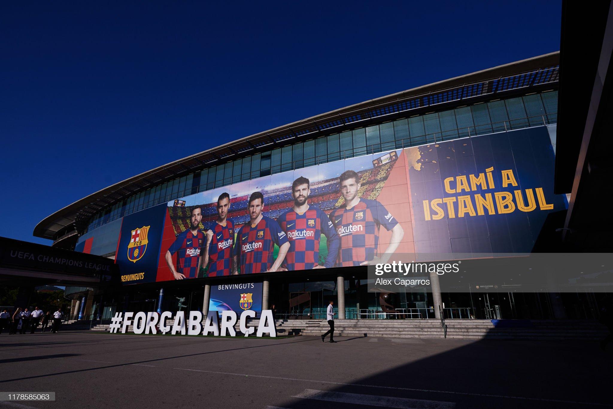 صور مباراة : برشلونة - إنتر 2-1 ( 02-10-2019 )  An-outside-view-of-the-camp-nou-stadium-ahead-of-the-uefa-champions-picture-id1178585063?s=2048x2048