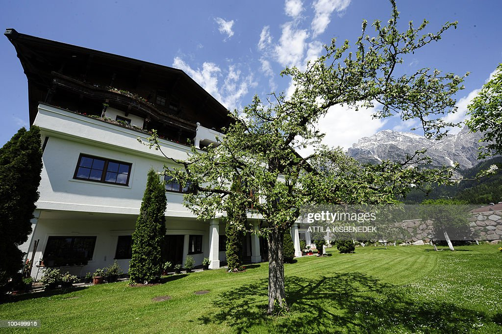 An outside view of the Hotel Krallerhof in Leogang, Austria, where the Serbian national football team is staying while holding a training camp to prepare for the 2010 World Cup in South Africa.