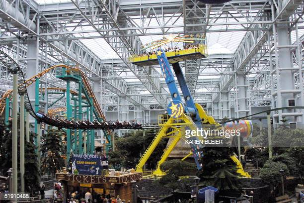 An overall photo of the amusement park at the Mall of America in Bloomington Minnesota 29 December 2004 The Mall of America has become globally...