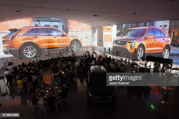 An overall room view at Cadillac Welcome Luncheon At ABFF Black Hollywood Now at The Temple House on June 13 2018 in Miami Beach Florida