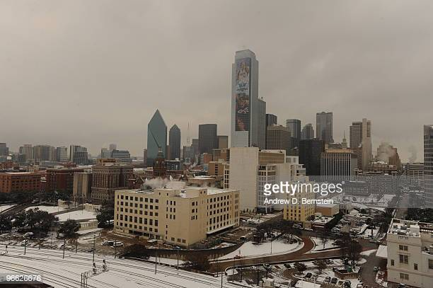 An overall view of the city of Dallas during the 2010 NBA AllStar Day of Service on February 12 2010 in Dallas Texas NOTE TO USER User expressly...