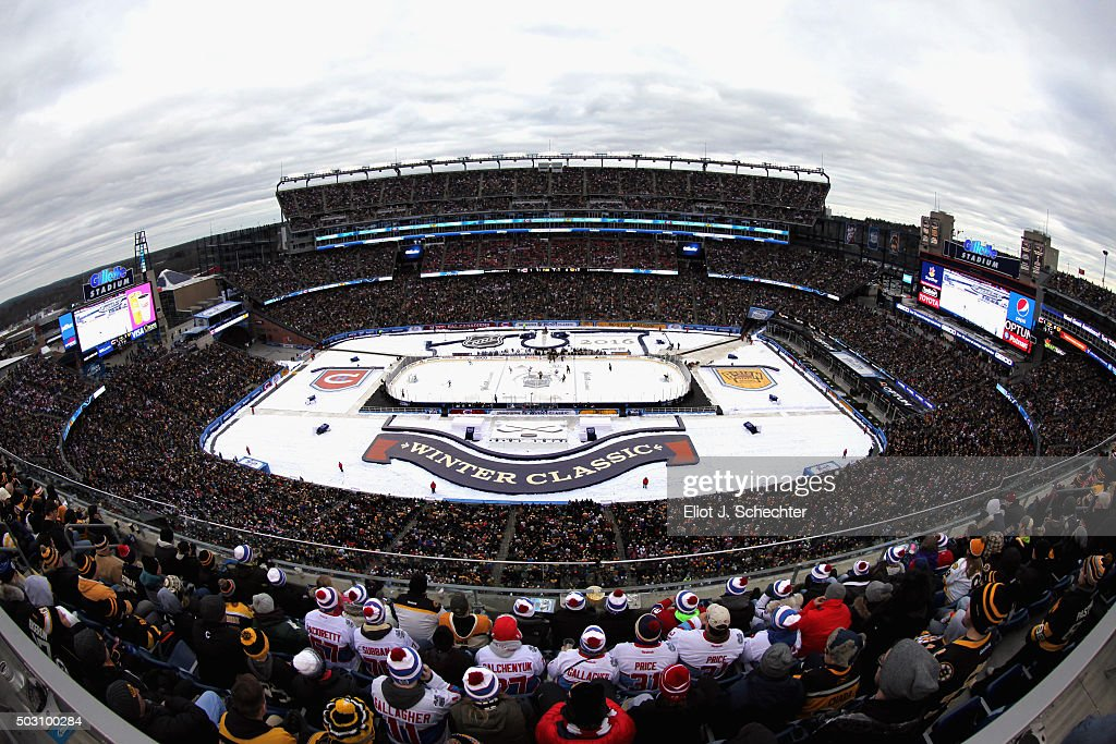2016 Bridgestone NHL Winter Classic - Montreal Canadiens v Boston Bruins : News Photo
