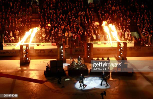 An overall view of the Green Day concert during the 2020 NHL AllStar Game at the Enterprise Center on January 25 2020 in St Louis Missouri