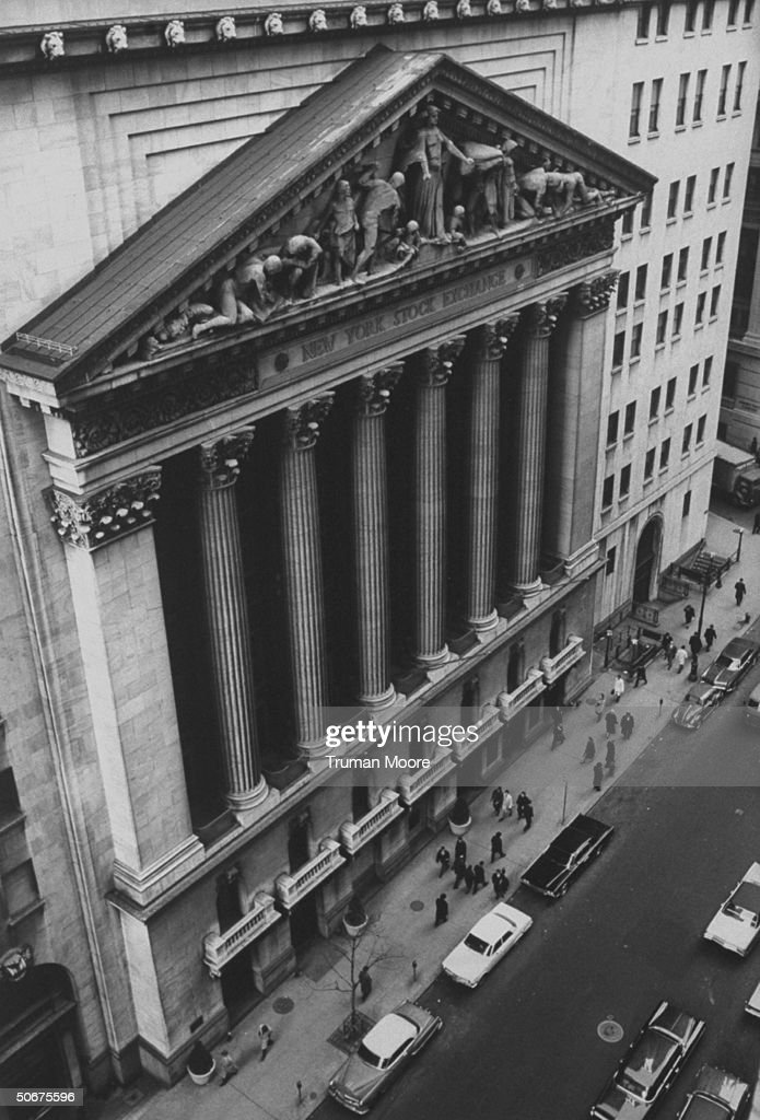 (FILE) Time Life Wall Street Through The Years
