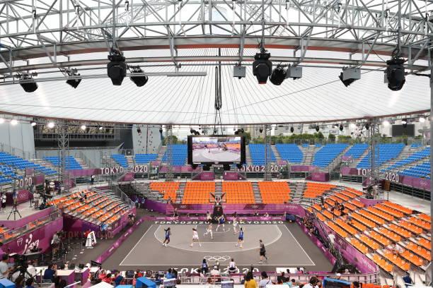 JPN: 2020 Tokyo Olympics: 3x3 Italy v USA