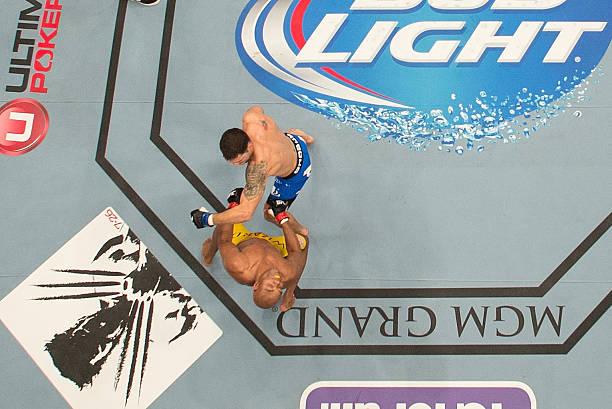 UFC 162: Silva V Weidman Wall Art