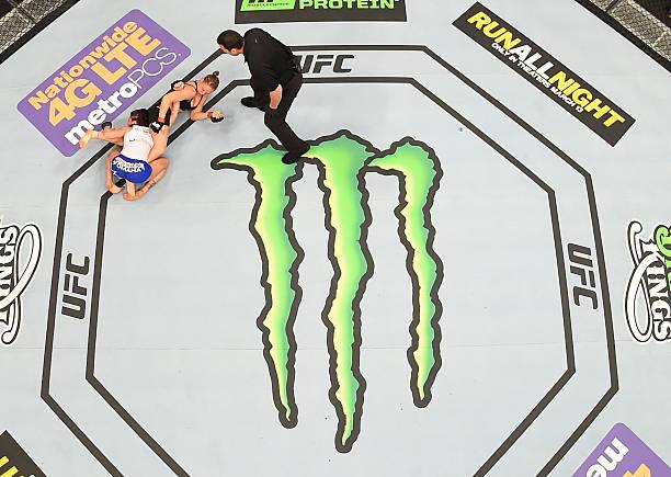 UFC 184: Rousey V Zingano Wall Art