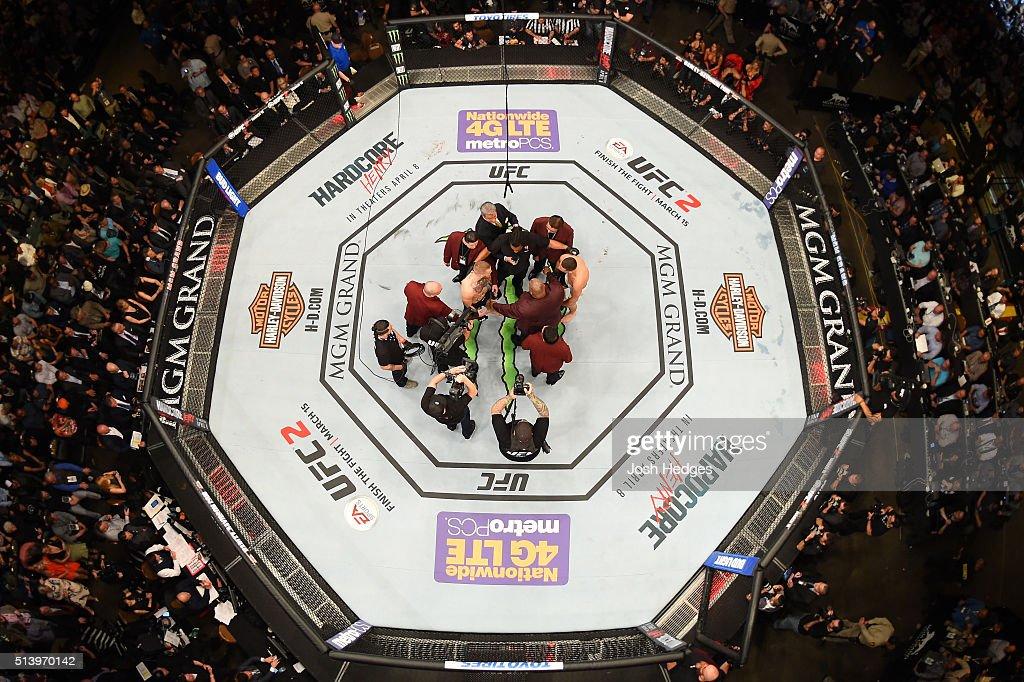 UFC 196: McGregor v Diaz : News Photo