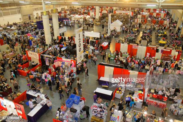 An overheadview of the International Jewelry Fair and General Merchandise Show