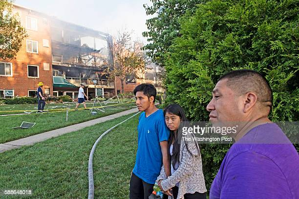 An overnight 3alarm fire and explosion at an apartment building in Silver Spring Maryland injured more than 30 people on Thursday August 11 2016 A...
