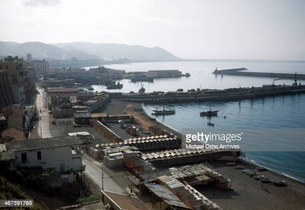 An overview of the Gulf of Salerno in SalernoItaly