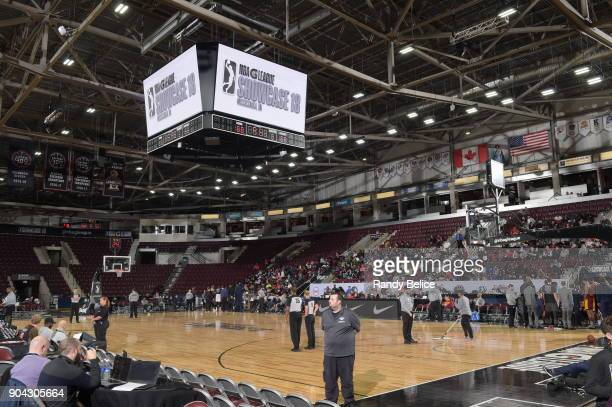 An overview of the interior of the Hershey Centre before the game between the Canton Charge and Northern Arizona Suns during the GLeague Showcase on...