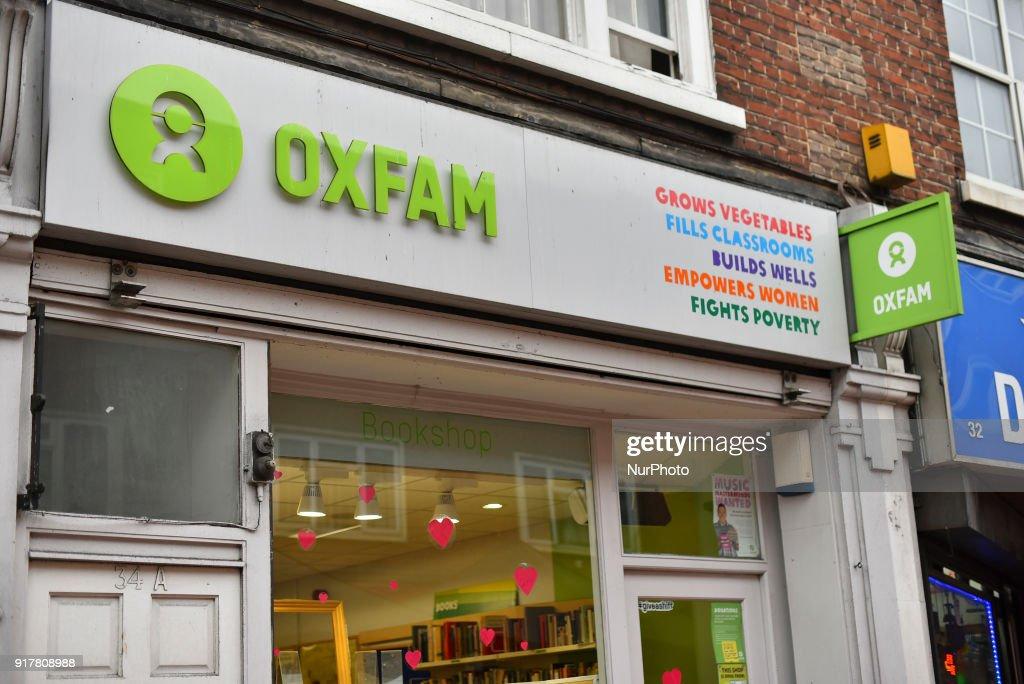 Oxfam Under Investigation : ニュース写真