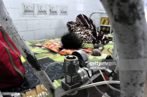 An oxygen machine is seen next to a TB patient According to the World Health Organization TB is one of the top 10 causes of death worldwide