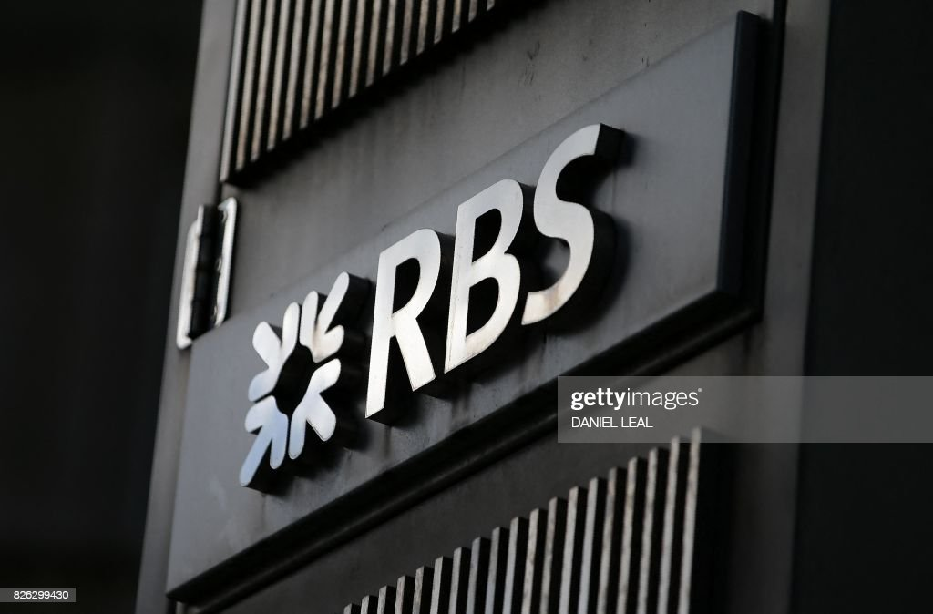 BRITAIN-BANKING-EARNINGS-BUSINESS-RBS-BREXIT : News Photo