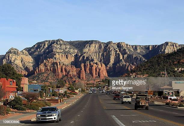 An scenic view as photographed on February 62011 in Sedona Arizona