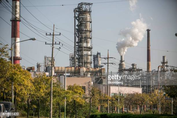 An SK Innovation Co oil refinery stands in Ulsan South Korea on Thursday Nov 9 2017 Asian firms which lag behind other regions in gender diversity...