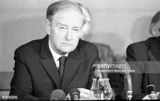 An Taoiseach Liam Cosgrave circa May 1977