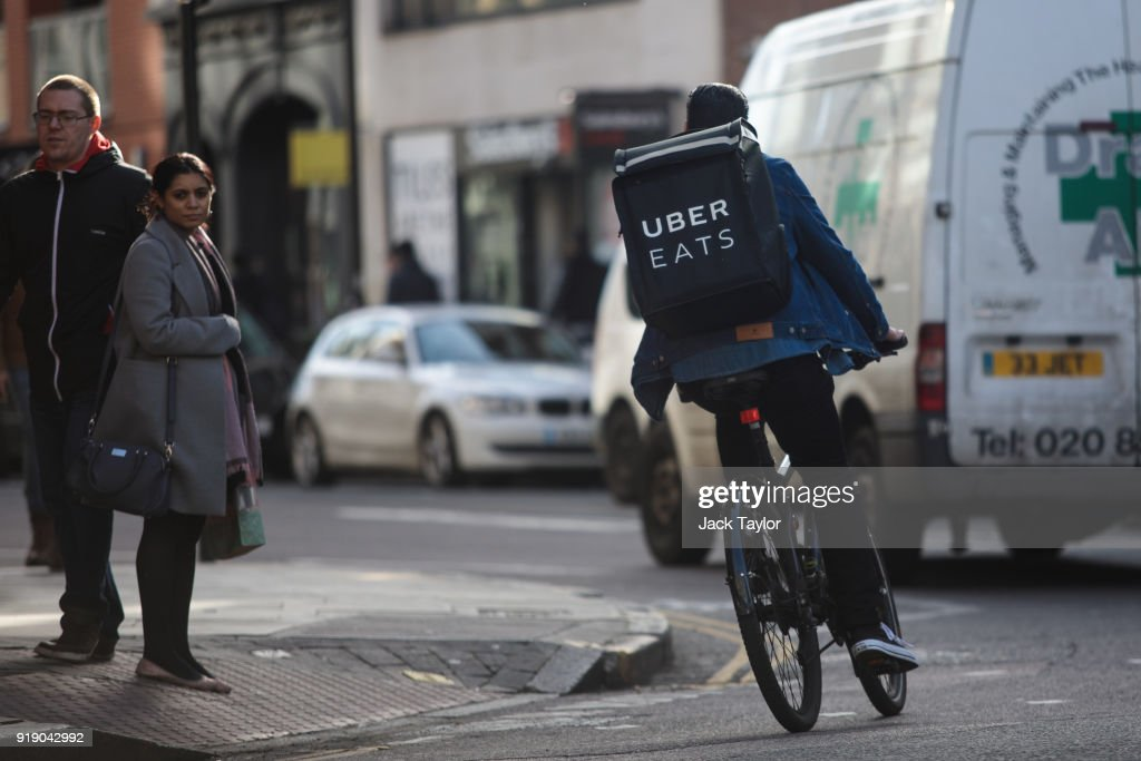 UK Govt Promises Overhaul Of Workers Rights to Protect Those In Gig Economy : ニュース写真
