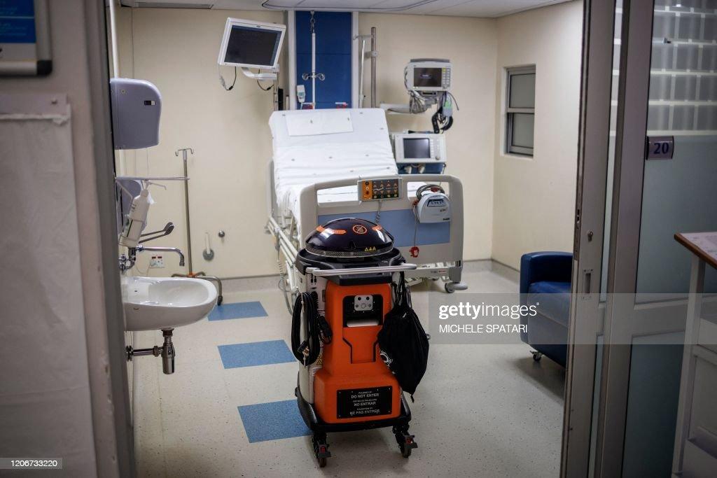 SAFRICA-HEALTH-VIRUS-COVID19 : News Photo
