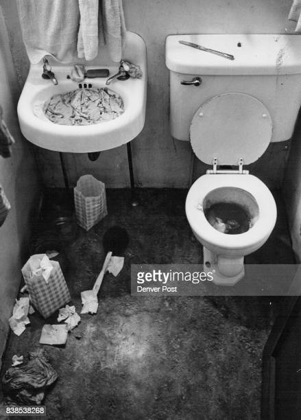 An uncaring attitude toward sanitary habits evidenced in Cecelia's bathroom is typical of a 'Lost Soul' Credit Denver Post Inc