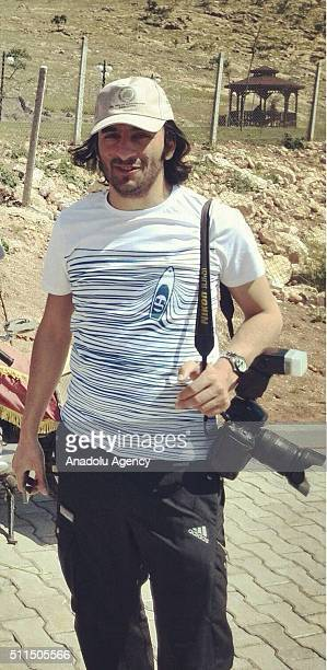 An undated archive image shows Turkey's semiofficial news agency Anadolu Agency journalist Rauf Maltas who was abducted on 19th of Februay 2016 by...