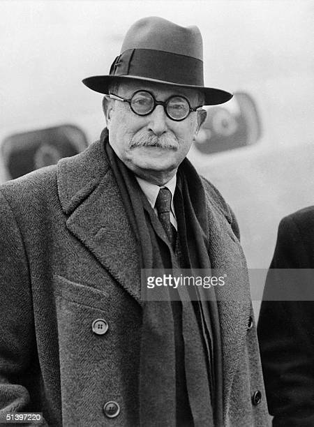 An undated file photo of French statesman and Prime Minister Leon Blum